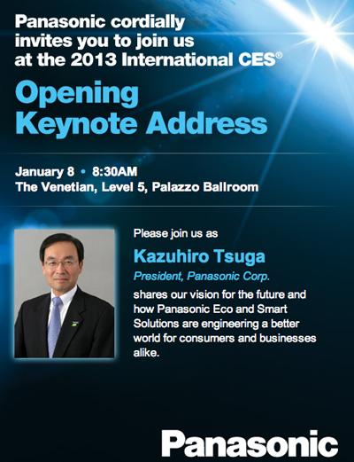 Panasonic Keynote