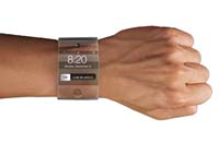 Apple is developing a curved glass watch that runs iOS.