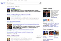 Search engine adds social results.