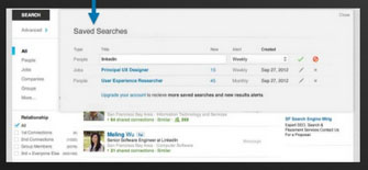 Automated alerts will save search queries and e-mail results when new matches appear