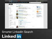 Improvements in LinkedIn search.