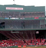 Reporter at Fenway almost hit with ball during selfie shot.