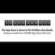 App Store nears 50 billionth download
