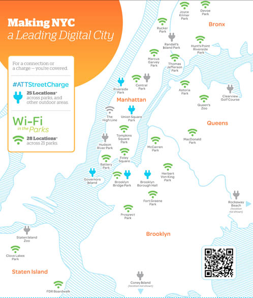 AT&T Charging Station locations