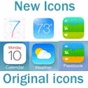iOS 7 icon difference