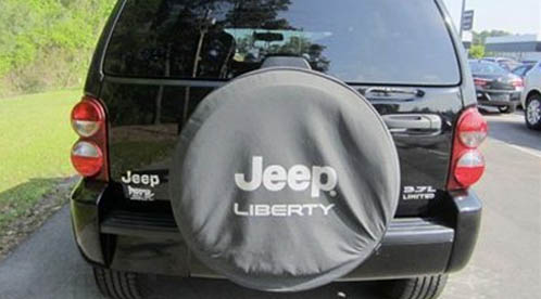 Back of Jeep Liberty recall gas tank