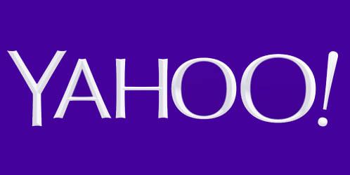 Yahoo debuts new logo