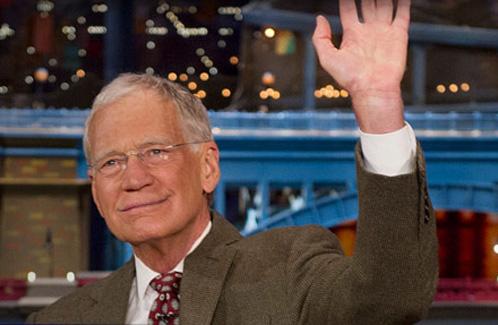 Letterman retirement Twitter