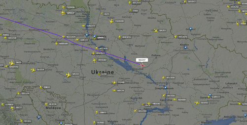 MH17 Radar Data